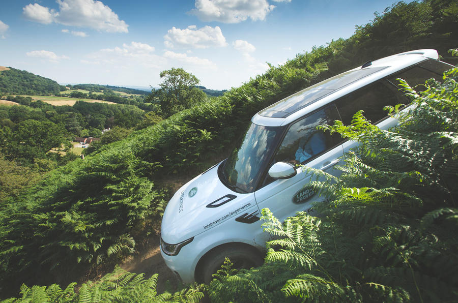 The Land Tour: Taking on the UK's best off-road courses