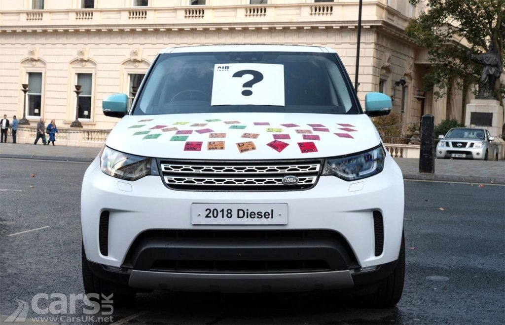 Jaguar Land Rover uses AIR Index Testing to prove low diesel emissions