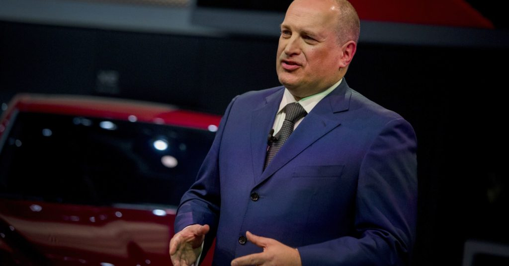 Jaguar Land Rover global executive Joe Eberhardt has a plan to make profits