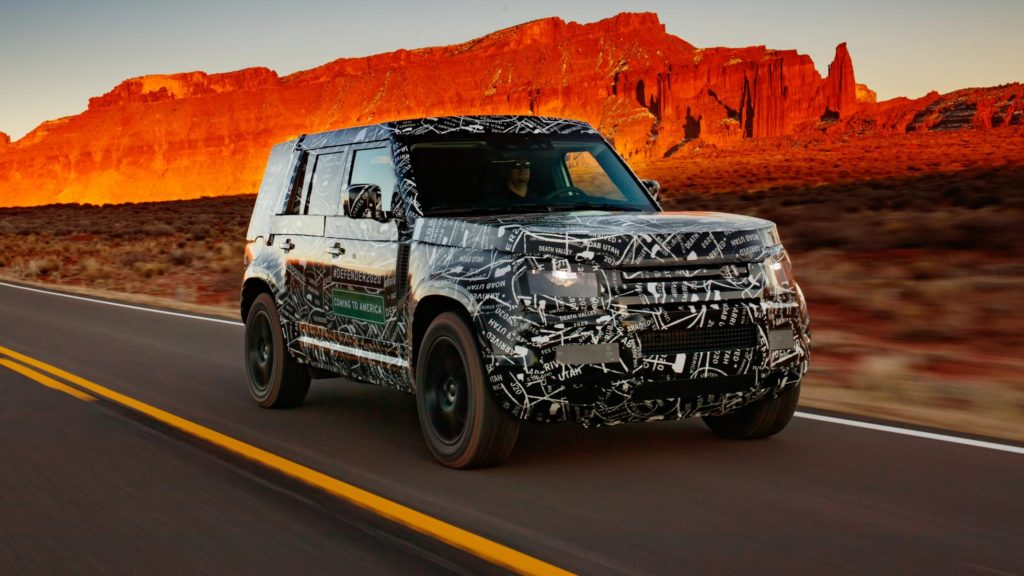 The new Land Rover Defender is nearly here