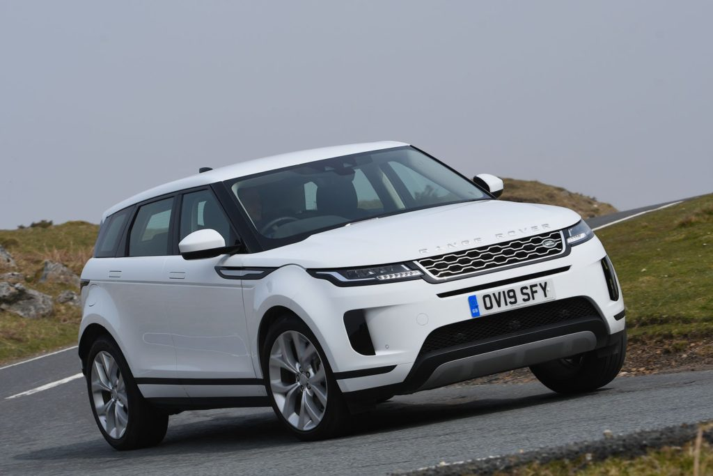 New Range Rover Evoque Comparison