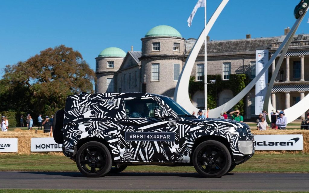 New Land Rover Defender at Goodwood Festival of Speed