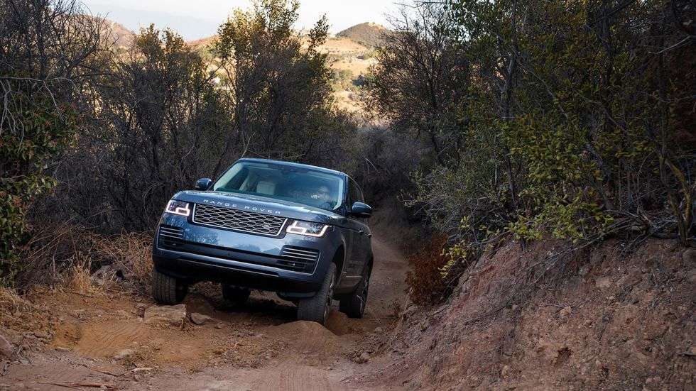 The best SUVs for off-roading: Range Rover