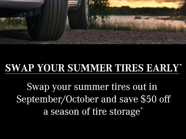 Summer Tire Swap