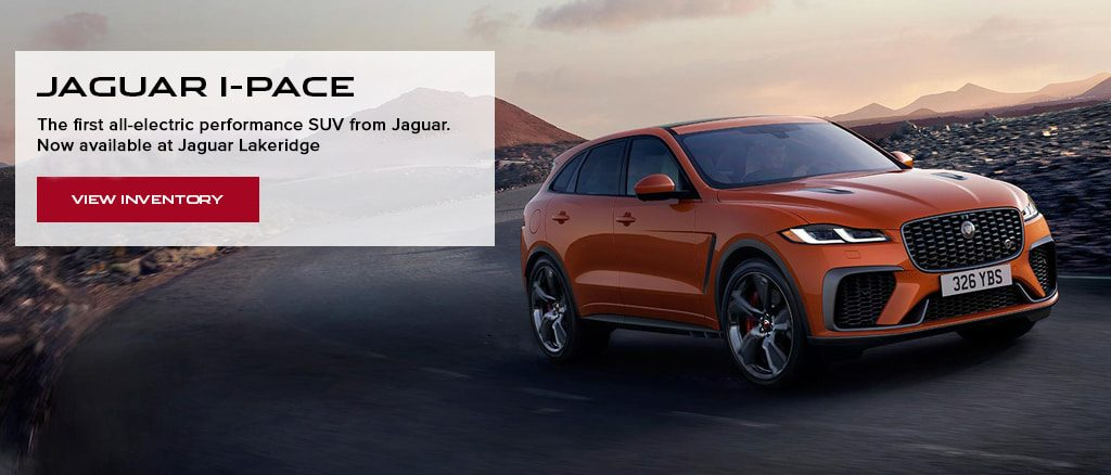 Jaguar I Pace Offer Graphic Slide