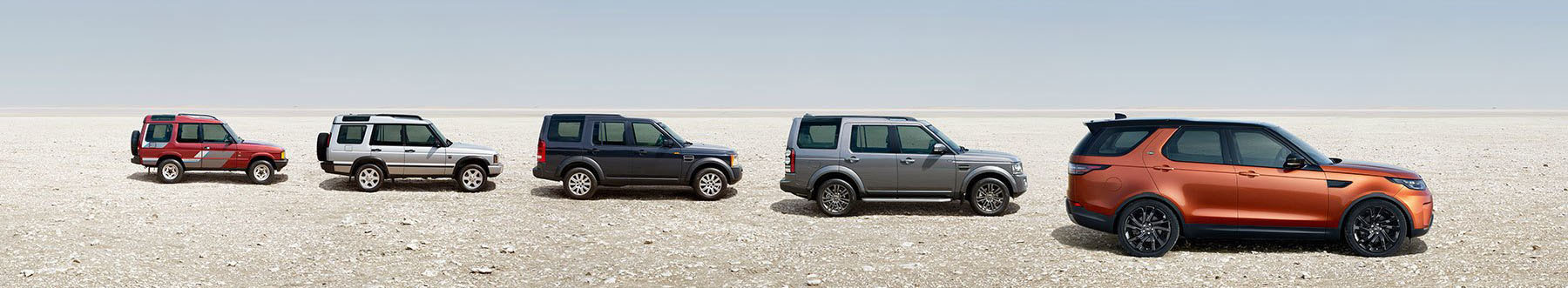Land Rover Discovery Banner