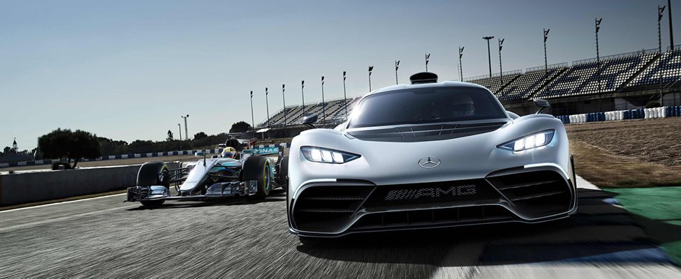 From the racetrack to the road: the Mercedes-AMG ONE