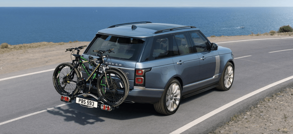 land rover range rover options and