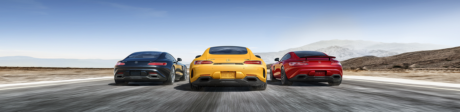 Mercedes-AMG GT Coupes