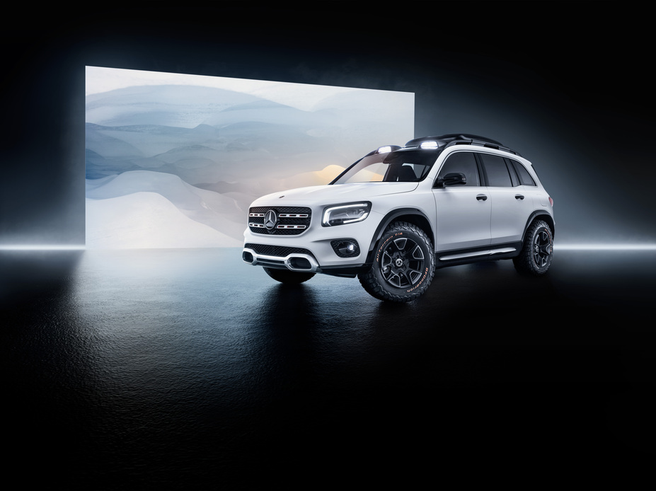 The Mercedes-Benz Concept GLB