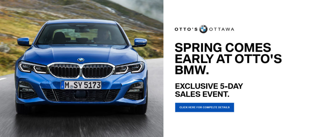 Otto's BMW Exclusive 5-Day Sale