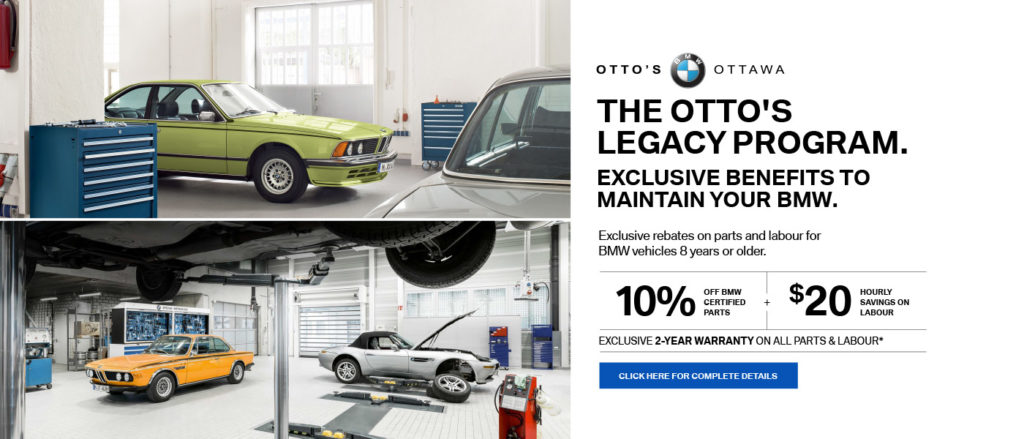 Otto's BMW Legacy Vehicles