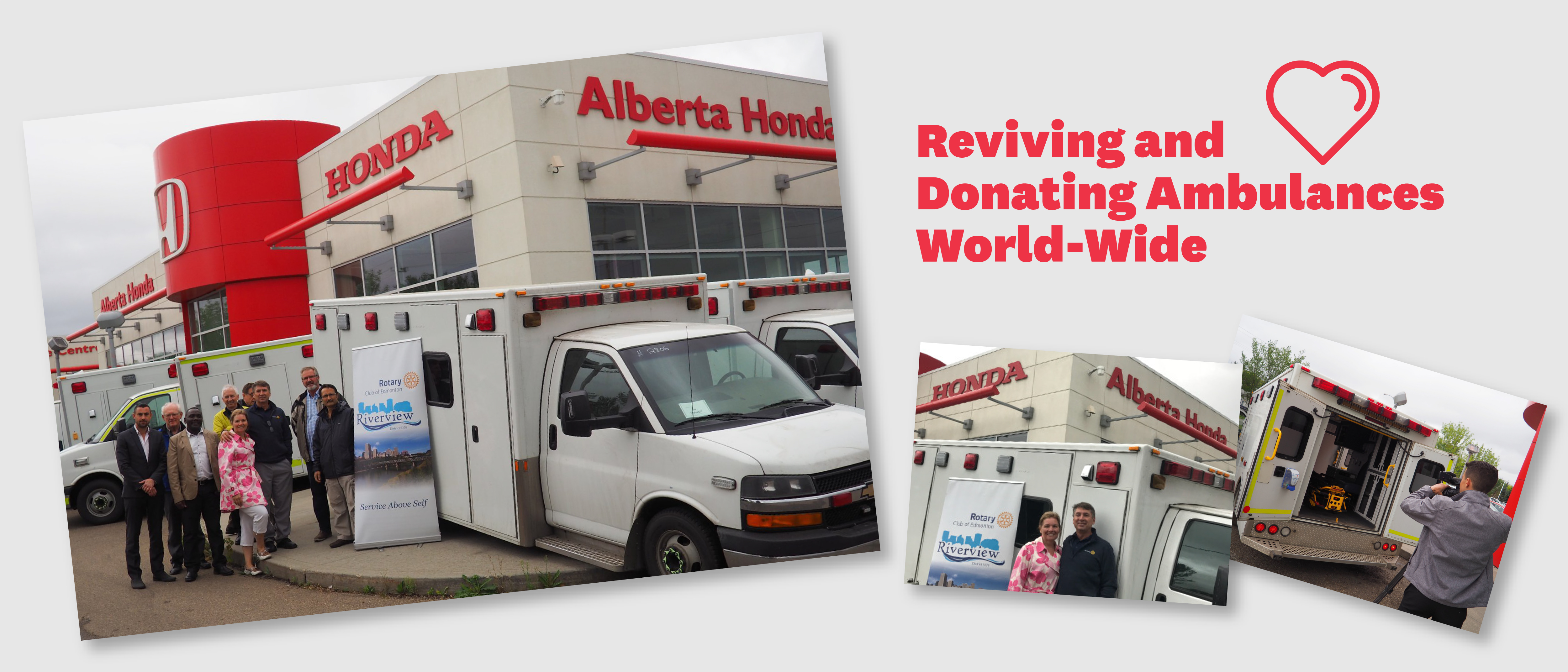 Reviving and Donating Ambulances World-Wide