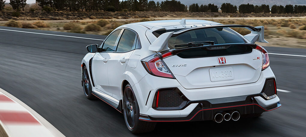 2019 Honda Civic Type R with Manual Transmission