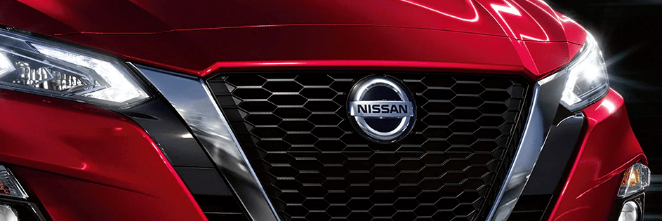 Front grille of the Nissan Altima
