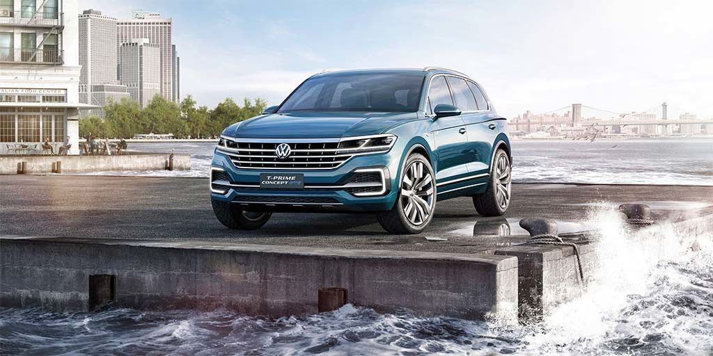 An Upscale Volkswagen SUV Concept for Beijing
