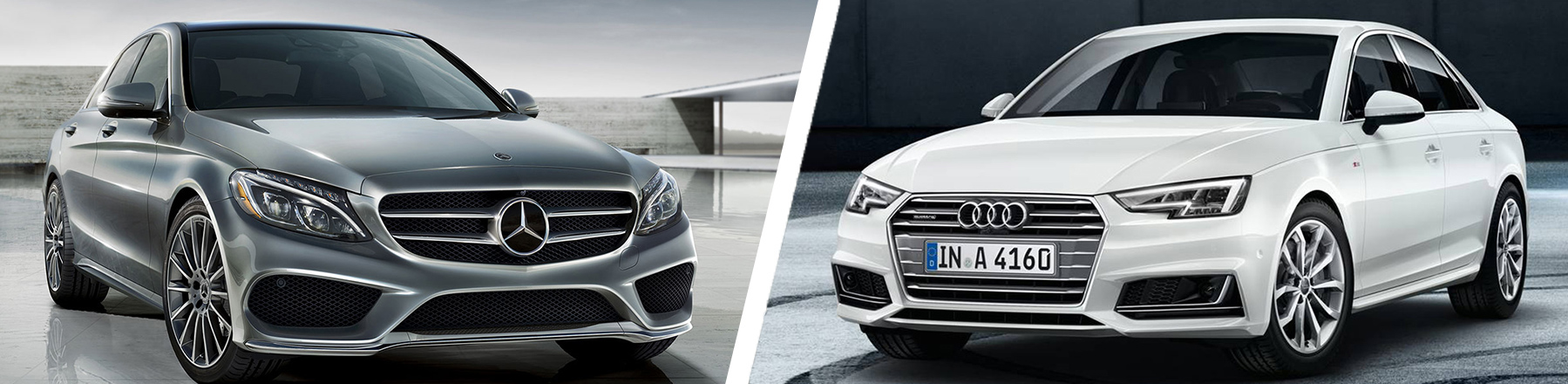 The Mercedes-Benz C-Class Compared to the Audi A4