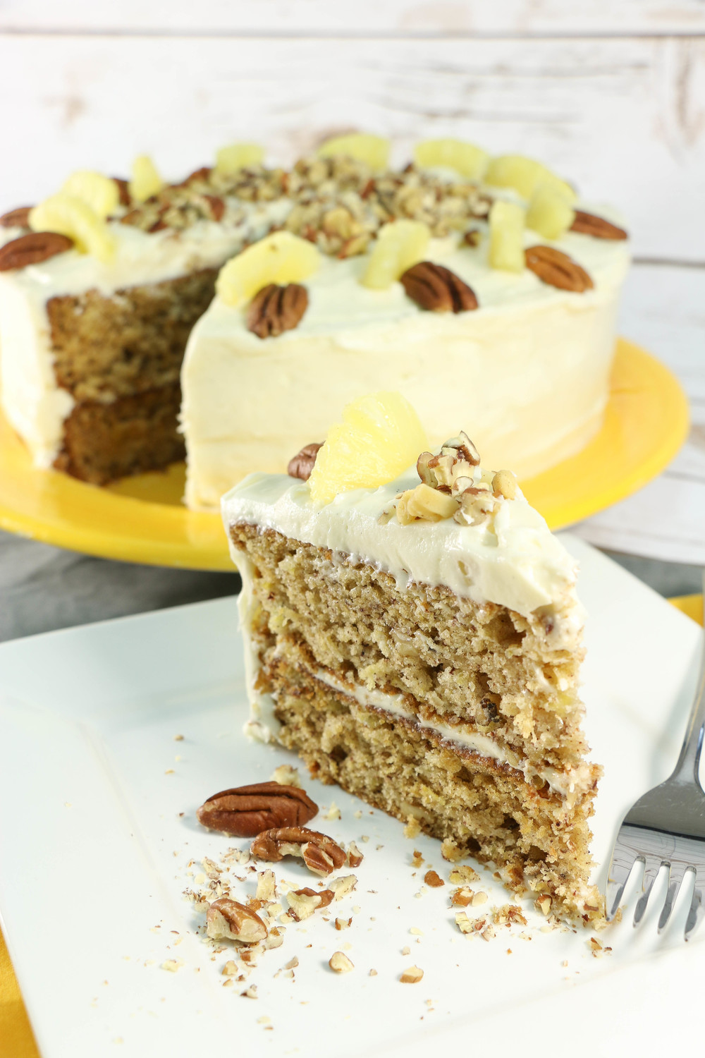 Sweetest From Scratch Hummingbird Cake Recipelion Com