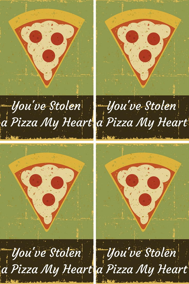 Youve Stolen A Pizza My Heart Valentine