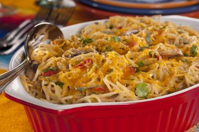 EDR Mexican Spaghetti Casserole