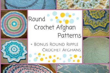 Round Ripple Afghan Crochet Pattern 4k Pictures 4k Pictures