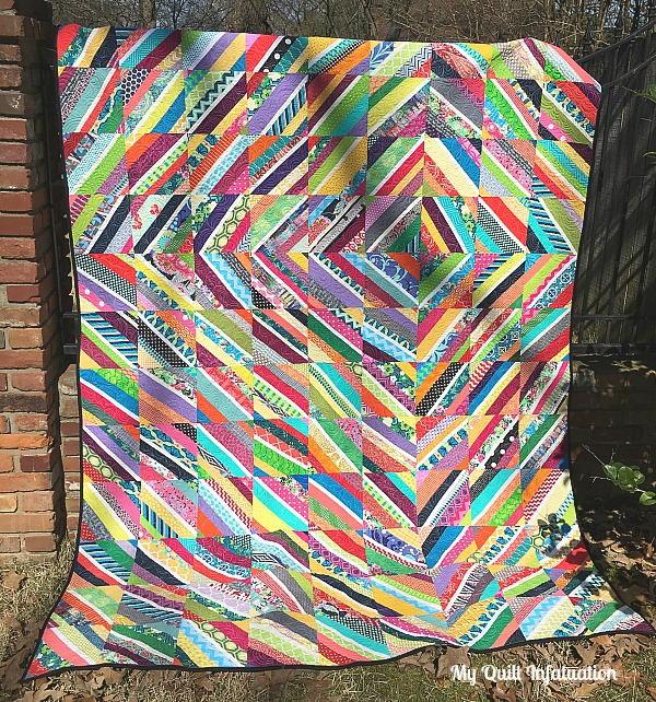 Vortex String Quilt Tutorial Favequilts Com