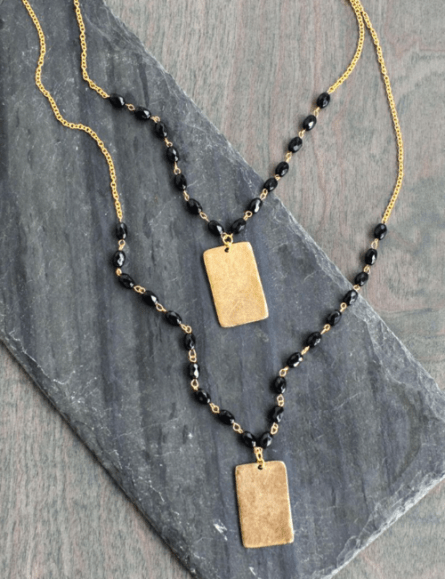 DIY Anthropology Pendant Necklace