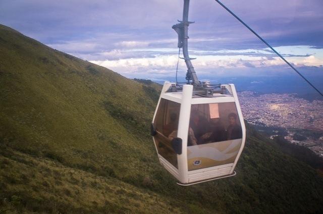 Que faire à Quito ? Emprunter le téléphérique !