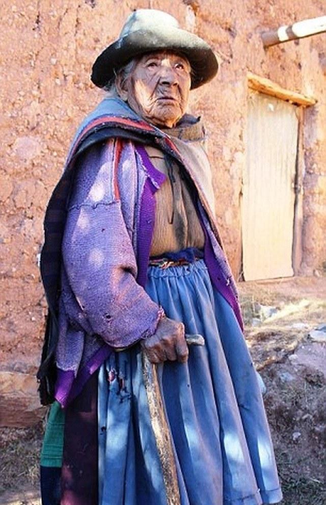 Filomena Taipe Mendoza doyenne du Perou