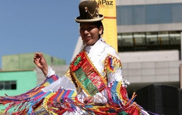 femme cholita bolivie