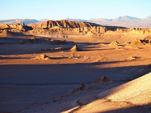 Valle de la luna, San Pedro d'Atacama, Chili