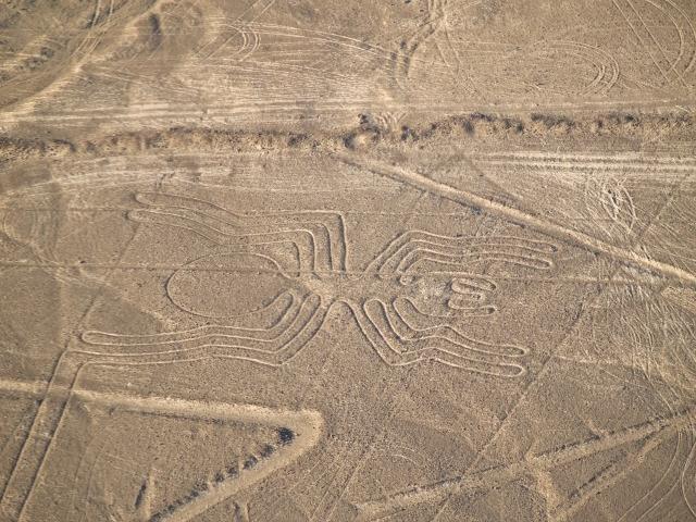 Les lignes de Nazca vues du ciel