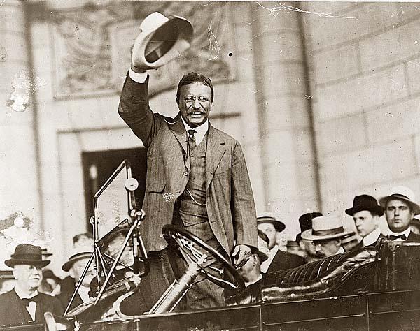 President Théodore Roosevelt chapeau de Panama