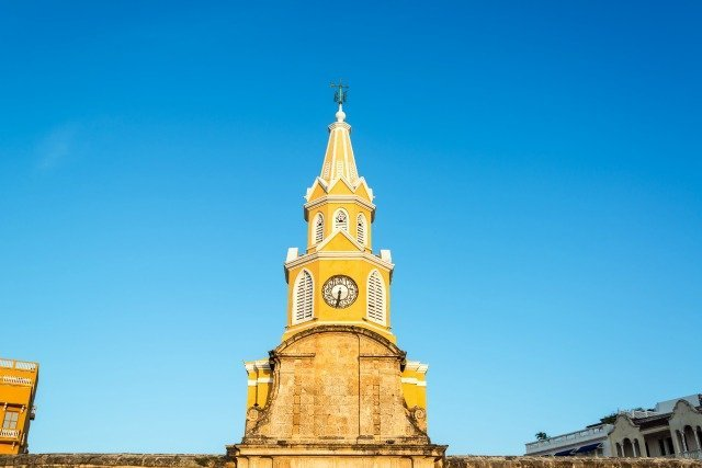 Puerto del Reloj Carthagène Colombie