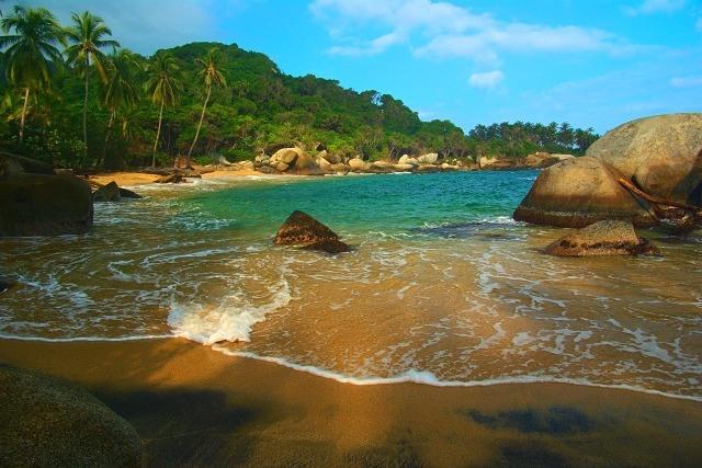 plage de Tayrona Colombie