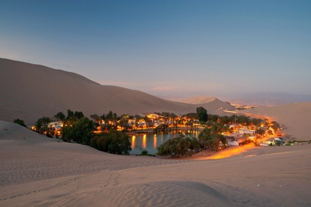 Huacachina la nuit