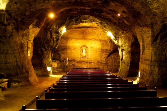"Cathédrale de Sel de Zipaquira © <a href=""https://www.flickr.com/photos/mckaysavage/"" target=""_blank"">McKay Savage</a>"
