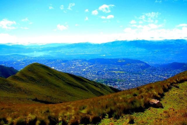 Vue sur le Rucu Pichincha