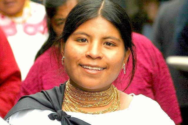 portrait d'une rencontre à Quito Equateur