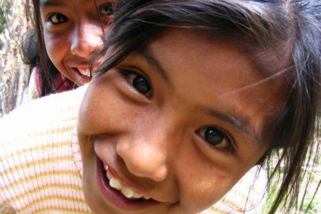 Enfants de l'ecole de Santiago de Okola, Bolivie