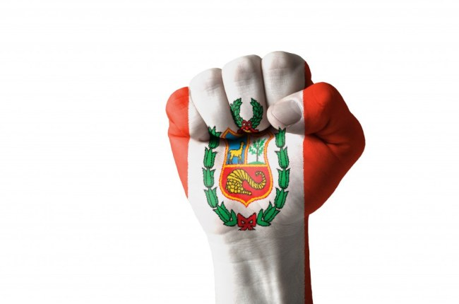 Drapeau du Pérou _ nouvelles d'Amérique du Sud