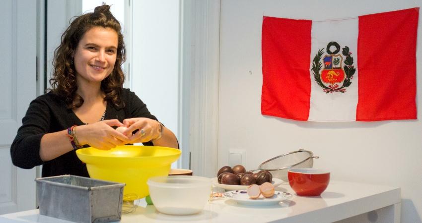 """Alice partage son premier souvenir culinaire : """"el queque de maracuya"""""""