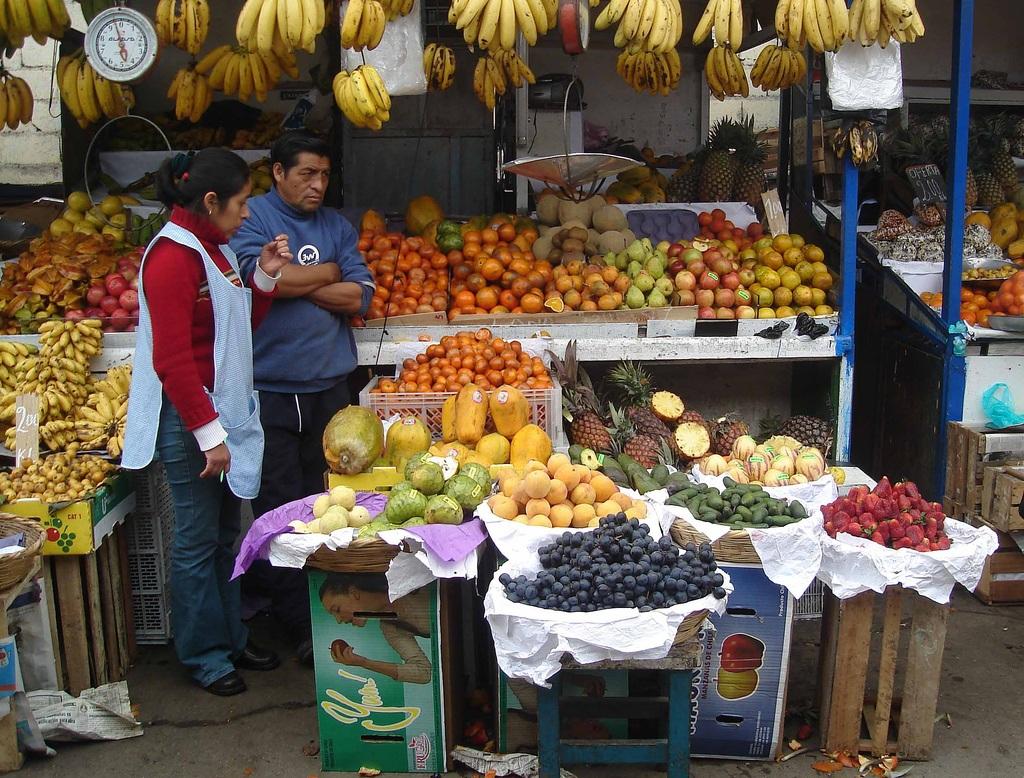 Le marché Surquillo