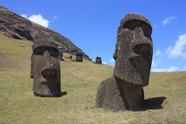 Que faire au Chili ? Rencontrez les Moaï de l'Île de Pâques