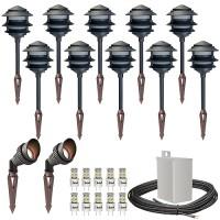 low voltage outdoor landscape lighting kits