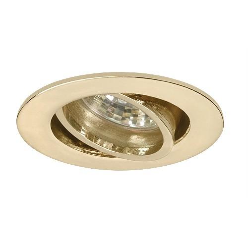 led under cabinet adjustable polished brass recessed gimbal trim 12 volt 3 watt mr16 led