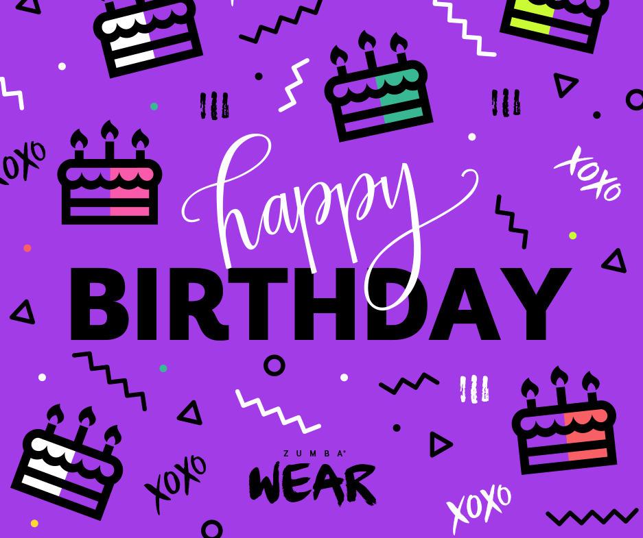 Happy Birthday E Gift Card Toko Zumba Fitness
