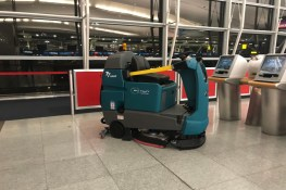 Floor cleaning tech a preview for near-future automation