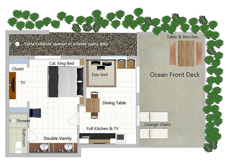 (#2 of 5) Ocean Breeze: one bedroom ocean front
