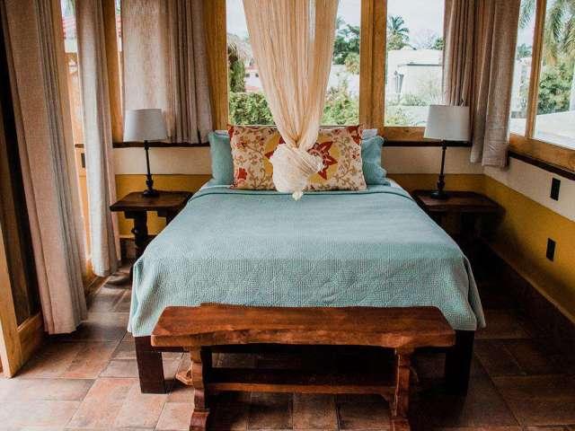 Queen Bed in Palapa Bedroom